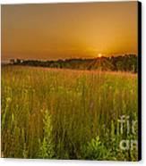 Retzer Sunset Canvas Print by Andrew Slater
