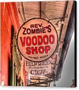 Rev. Zombie's Canvas Print by David Bearden