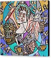 Revelation Chapter 5 6-14 Canvas Print by Anthony Falbo