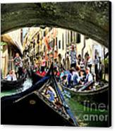 Rhythm Of Venice Canvas Print by Jennie Breeze