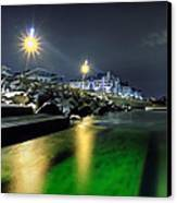 Green Waters Canvas Print by EXparte SE