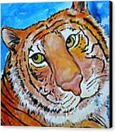 Richard Parker Canvas Print by Debi Starr