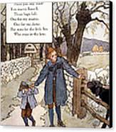 Richardson: Mother Goose Canvas Print by Granger