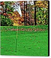 Ridgewood Golf And Country Club Canvas Print by Frozen in Time Fine Art Photography