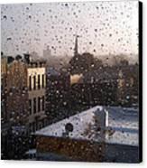 Ridgewood Wet With Rain Canvas Print by Mieczyslaw Rudek Mietko