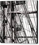 Rigging Canvas Print by Olivier Le Queinec