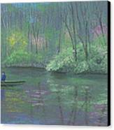 Rite Of Spring Canvas Print by Garry McMichael