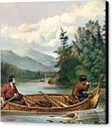River Hunting Canvas Print by Gary Grayson