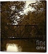 Riveting Bridge Canvas Print by Customikes Fun Photography and Film Aka K Mikael Wallin