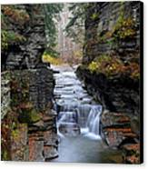 Robert Treman State Park Canvas Print by Frozen in Time Fine Art Photography