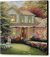 Robinson House Canvas Print by Cecilia Brendel