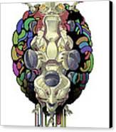 Robot God - Trinity 2.0 Canvas Print by Augustinas Raginskis