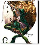 Robyn Hood 01h Canvas Print by Zenescope Entertainment