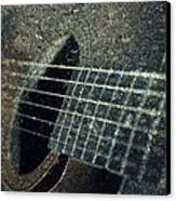 Rock Guitar Canvas Print by Photographic Arts And Design Studio