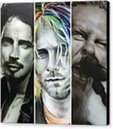 'rock Montage I' Canvas Print by Christian Chapman Art