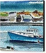 Rockport Harbor Canvas Print by Scott Nelson