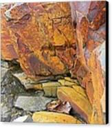 Rocks1 Canvas Print by Katina Cote