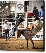 Rodeo High Flyer Canvas Print by Jon Berghoff