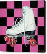 Roller Skate Canvas Print by Anthony Mezza