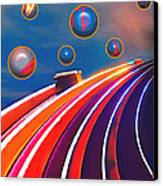 Rollerball Canvas Print by Wendy J St Christopher