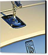 Rolls-royce Hood Ornament 3 Canvas Print by Jill Reger