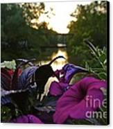 Romantic River View Canvas Print by Customikes Fun Photography and Film Aka K Mikael Wallin