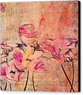 Romantiquite - 44bt22 Canvas Print by Variance Collections