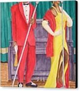 Roosevelt And Lola Canvas Print by Rhonda Leonard