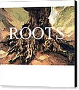 Roots Canvas Print by Bob Salo