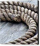 Rope Canvas Print by Janice Drew