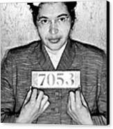 Rosa Parks Canvas Print by Unknown