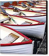 Rowboats Canvas Print by Elena Elisseeva