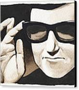 Roy Orbison Canvas Print by David Shumate