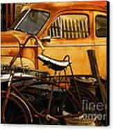 Rust Race Canvas Print by Joe Jake Pratt