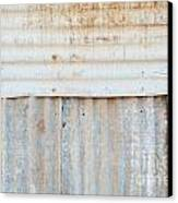 Rusted Metal Background Canvas Print by Tim Hester