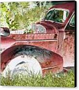 Rusted Truck 4 Canvas Print by Dietrich ralph  Katz