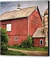 Rustic Barn Canvas Print by Bill Wakeley