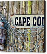 Rustic Cape Cod Canvas Print by Bill Wakeley