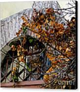 Rustic El Vergel Transom Canvas Print by Al Bourassa