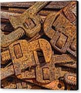 Rusting Wrenches Canvas Print by Robert Jensen