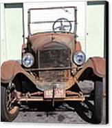 Rusty Old Ford Jalopy 5d24642 Canvas Print by Wingsdomain Art and Photography