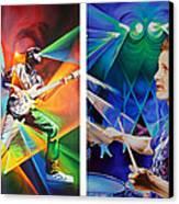 Ryan And Kris Canvas Print by Joshua Morton