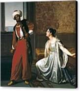 Sabatelli, Gaetano 1842-1893. Otello Canvas Print by Everett
