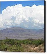 Sacramento Mountains Storm Clouds Canvas Print by Jack Pumphrey