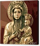 Sacred Icon Canvas Print by Patricia Januszkiewicz