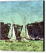 Sail Away Canvas Print by Susan Leggett
