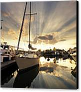 Sailed In Canvas Print by Alexey Stiop