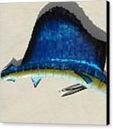 Sailfish Canvas Print by Diane Snider