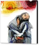 Saint Francis Canvas Print by Daniel Bonnell