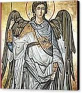 Saint Michael Canvas Print by Filip Mihail